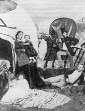 Zigeunerfamilie in England, 1878
