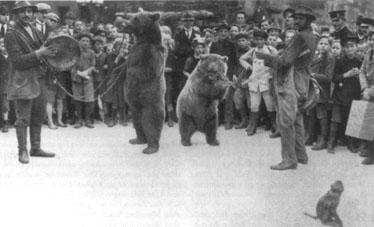 Roma mit Bären