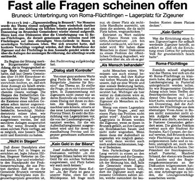 Dolomiten, 2./3. September 1995