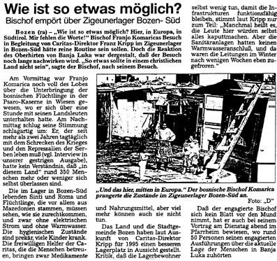 Dolomiten, November 1994